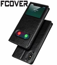 2020 stand smart cover per iphone Smart Front per Apple iphone XR iphone XS Max Custodia Flip Custodia magnetica per vetri Custodia protettiva in vera pelle stand smart cover per iphone economici