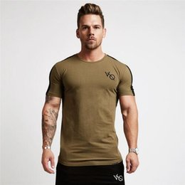 tee shirt homme serré Promotion T-shirt de sport d'été pour hommes T-shirt de compression Collants fitness T-shirt à séchage rapide à manches courtes pour hommes