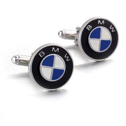 gemelli lampeggianti Sconti Top Classic High End gemelli di marchio dell'automobile di lusso Serie Gemelli Button Mens francese Camicia Gemelli Studs