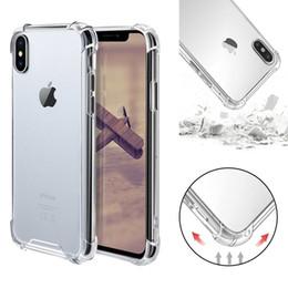 Armure hybride acrylique antichoc transparente pare-chocs Soft TPU Frame Couverture rigide pour PC pour iPhone XR XS MAX 8 7 Samsung S10 Plus ? partir de fabricateur