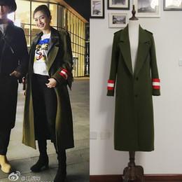 2019 cappotto caldo britannico Casacos soprabito caldo cappotto femminile in cashmere con intaglio autunno / inverno britannico 2019 New Fashion Women cappotto caldo britannico economici
