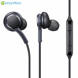 2019 collar de auriculares inalámbricos Gutsyman S8 Bass Auriculares internos Super Clear Ear Buds Auricular Auricular con aislamiento de ruido para Iphone 6 Xiaomi Samsung S8 S8 + Note 8