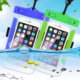 Étui de téléphone portable étanche pour iPhone X Xs Max Xr 8 7 Samsung S9 clair PVC scellé sous-marin Cell Phone Smart Pouch Cover ? partir de fabricateur