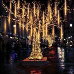 Meteor Luci Pomelotree 540 impermeabile LED meteora doccia a pioggia cascata luci di Natale di cerimonia nuziale partito di nuovo anno Decorazione albero da