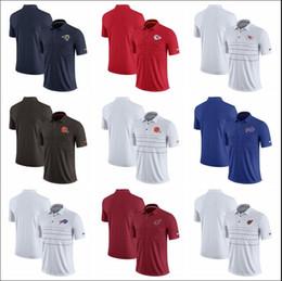 Windjacke polo online-Angeles City Cleveland Buffalo Herren Billscardinals Browns Chiefs Rams Cardinals Polo-Shirt für die frühe Saison