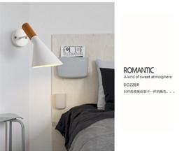 Aplique de pared de la nave online-Modernas lámparas de pared creativas Sconce E14 Classic luces de pared sala de estar dormitorio Den Wall Sconce envío gratis