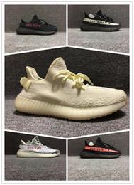 info for 3842a 14cd9 2019 nuevo color aceite de sésamo hielo amarillo 350 v2 zapatos de diseñador  Sply negro rojo 350 hombres y mujeres zapatillas con marco