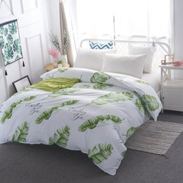 patterned duvets Coupons - LAGMTA 1 pc 100% cotton geometric pattern quilt cover cartoon plant duvet cover can be