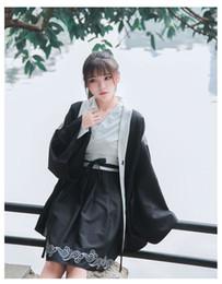 cappotto di lolita dolce Sconti lolita kimono dolce ragazza gotico lolita dress + coat stampa ricamo retrò kawaii set cosplay party loli dress