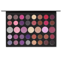 Hot Eye makeup 39S palette per ombretti opachi 39 colori come una gemma glitterata luccicante ombretto artistico cheap press eye makeup da premere il trucco dell'occhio fornitori