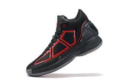 Botas altas online-Hombres 2020 D Rose 10 10s zapatos de baloncesto de las zapatillas de deporte Derrick Rose MVP X rebote Brown botas de alto Zapatos de la zapatilla