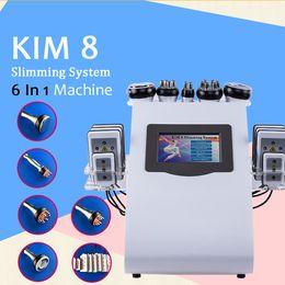 Máquina de belleza multifunción online-Pro 40K Cavitación ultrasónica Eliminación de grasa Aspiradora RF BIO Multi-Funciones Spa Beauty Máquina de adelgazamiento para la venta