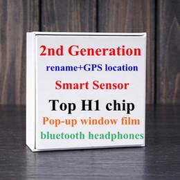 Argentina Nuevo Gen 2 Emergente Supercloned H1 doble chip Bluetooth estéreo para Pods2 Headset táctil de control por voz del sensor Validar SN Cambiar nombre de Bluetooth Suministro