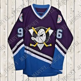 Cheap custom Charlie Conway Hockey Stitched Jersey The Mighty Ducks Movie   96 Stitched Customize any number name MEN WOMEN YOUTH XS-5XL custom mighty  ducks ... 5cf9b7762