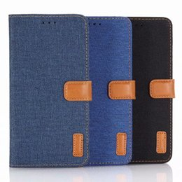 Flip cover notenrand online-Oxford-Stoff Flip-Cover Telefonkasten für Samsung Galaxy Note 9 8 S10 S8 Rand Plus und iPhone X XR XS Max 7 8 Plus