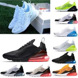 0cf611779c2 Nike air max 270 Nuevo diseñador 2019 Campeón francés Hombres Zapatos 2  estrellas Negro Blanco Cojín Triple Moda de aire para hombre Zapatillas  casuales ...