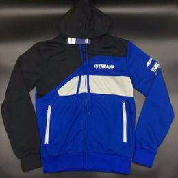 фабрика по производству куртки Скидка Мужская толстовка на молнии с капюшоном MOTO GP Хлопковая куртка для YAMAHA Factory Спортивная спортивная толстовка с капюшоном для мотоцикла