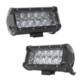 luzes led automotivas atacado Desconto Atacado Automotive led light 7 polegada 36 W 4D C REE LEVOU Barra de Luz de Trabalho para o Barco Trator OffRoad 4WD 4x4 Caminhão SUV ATV Spot Flood Com