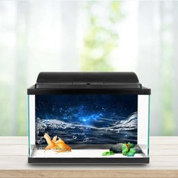 backdrop pvc Coupons - High Quality PVC Adhesive Aquarium Fish Tank Background Poster Backdrop Decoration Paper