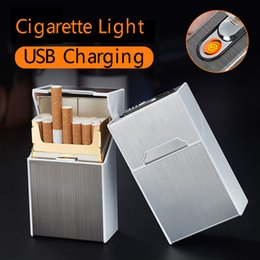 caricabatteria per auto mini plug plug eu Sconti 20 bastoncini accendisigari carica creativa antivento a prova di umidità USB sigaretta elettronica più leggero dfdf