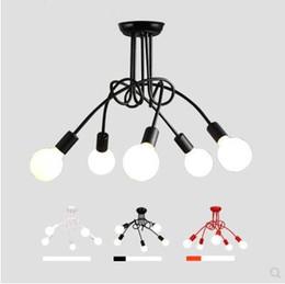 Envío gratis venta caliente Modern Vintage comedor 3 luces 5 luces luz de techo araña desde fabricantes