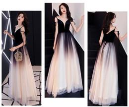 3d2d2289 Summer Wear 2019 Women Annual Meeting Host Banquet Evening Dresses Elegant  Dresses Ball Gown Long Skirt QC0166