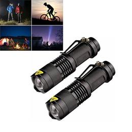 Nouvelle arrivée 2018 LED lampe de poche Mini Super Bright 3 Mode lampe de poche tactique meilleurs outils pour la randonnée, la chasse, la pêche et le camping par DHL ? partir de fabricateur
