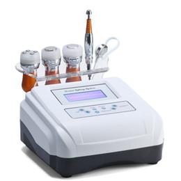 Argentina 4 en 1 Máquina de Rejuvenecimiento Ultrasónico de la Piel de Mesoterapia Sin Agujas Fotones Dispositivo de belleza para arrugas Diseño de escritorio meso terapia Uso en el hogar Suministro
