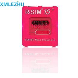 apple pro r sim Rebajas R-SIM 15 abrir de la tarjeta RSim15 Tarjeta de desbloqueo para el iPhone 11 iPhone 6 7 8 PRO plus x xs desbloqueado Tarjeta de desbloqueo iOS13