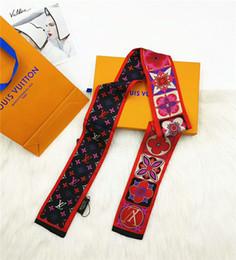Canada foulard en soie de mode marque cravate sac à main poignée ruban marque écharpe de cheveux imprimé ruban de poignet Offre