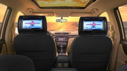 rádio para toyota yaris Desconto Rockville RTSVD961-BK 9 carro dvd Preto Plug N Reproduzir Dupla DVD / HDMI Headrest Do Carro monitores