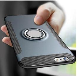 iphone5 автомобильный держатель Скидка Надежда Чехол для iPhone 7 8 X 6 S 6S Plus Автомобильный Держатель Магнитное Кольцо Всасывания Кронштейн Противоударный Прочный Броня Крышка Телефона для iPhone5 5S SE