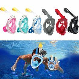 Máscara de mergulho adulto on-line-2019 Máscara De Mergulho Máscara De Snorkeling Anti-fog Máscara De Caça Submarina Para Crianças / Adultos Óculos Treinamento De Mergulho Equ