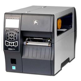 Nastri per stampanti online-Oringinal Zebra ZT410 203 dpi avanzata della stampante industriale tag nastro di trasferimento macchina cucite Stampante del codice a barre con ZM400 LCD aggiornato