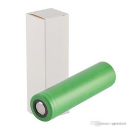 100% de Alta Qualidade VTC6 3000 mAh VTC5 2600 mAh VTC4 2100 mAh 3.7 V Li-ion 18650 Bateria Recarregável Baterias Usando para Ecig Box Mods de Fornecedores de levou 24v impermeável