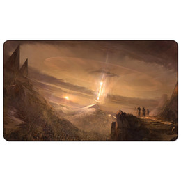 Tavolo dio online-Magic Board Game Playmat: Wrath of God Invocations Mt 60 * 35cm dimensioni Tovaglietta Mousepad Gioca Matwitch fantasy occult dark female wizard2Trial o