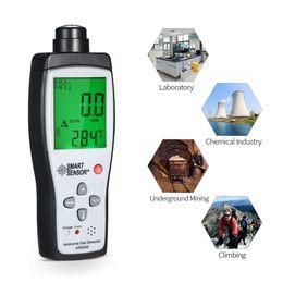 Alarme do monitor da bateria on-line-Sensor inteligente AR8500 Detector de Medidor de Amônia Gas Handheld NH3 Medidor Monitor de Faixa de 0-100PPM Som Luz de Alarme Li-bateria