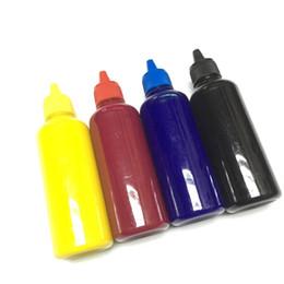 2019 encre YOTAT 4 * 100ml Encre pigmentée universelle K C M Y Kit de recharge pour Pour imprimante Canon Brother Lexmark encre pas cher