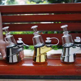 kit vaporizzatore smok Sconti Originale SOC Peak enail Kit 2600mAh Cera Concentrato Shatter Budder Dab corredo dell'impianto di perforazione Vape Con 4 Calore Impostazioni e di lunga durata 100% autentico