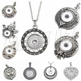 pulsanti a forma di cuore Sconti Fashion Button Necklace Pendant Ciondolo decorativo multi-stile pendente a forma di cuore Nosha T9C0013