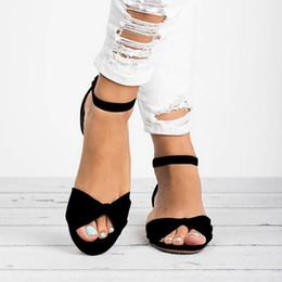 HEFLASHOR Sandalias de mujer con tacón plano con estampado de leopardo 2019 Verano Mujer Zapatos Zapatos de verano 2019 SummerFashion Sandalias dulce desde fabricantes