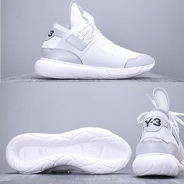64ff2f49e 2019 Luxury Designer Running Shoes 2019 Y-3 QASA RACER Hight Sneakers  Breathable for Men Women Couples Y3 KaiwaYohji Yamamoto Shoes discount y3  qasa shoes