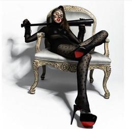 Chaussettes femme automne et hiver nouvelle collants sexy lettre sexy bas ? partir de fabricateur