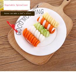 Nouveau 304 En Acier Inoxydable Bobine Twist Spirale Couteau Cuisine Gadgets Légumes Et Fruits Peu Petits Outils Séparation De La Cou ? partir de fabricateur