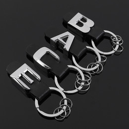 2019 anillo mercedes benz 3D Nuevo Metal cuero llavero del coche para Mercedes benz Tail modelo emblema llavero Para Mercedes Benz AMG BRABUS C E B A Clase accesorios anillo mercedes benz baratos