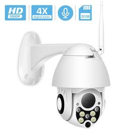1080p 2mp Nube Cámara IP inalámbrica exterior 4.0x Zoom digital Velocidad Cúpula Cámara CCTV Ir 50m Visión nocturna Cámara Ptz Wifi Exterior T190705 desde fabricantes
