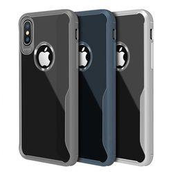 Casi chiari del telefono delle cellule del silicone online-Per iphone 11 PRO XR XS MAX X 6S 7 8 più caso telefono cellulare del telefono mobile copertura della cassa TPU trasparente per Samsung S8 S9 S10 nota 9 10 PLUS