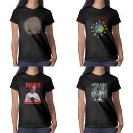 2019 покрывать бибером Джастин Бибер женская цель Обложка альбома черные женские футболки дизайн рубашки персонализированные сделать группу случайные Lil Dicky Earth Song логотип дешево покрывать бибером