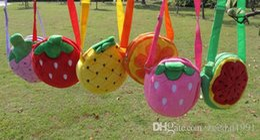 Argentina Niños de dibujos animados para niños Lucency bolsas de jalea niñas bebés fruta linda del color del caramelo mensajero bolsos princesa bolsa de hombro Suministro