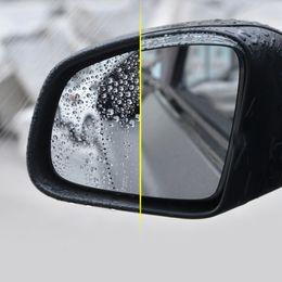 mitsubishi gear Promotion 2pcs rétroviseur pluie sourcil pour Mercedes nouvelle smart 453Fortwo Forfour miroir inverseur décoration accessoires de voiture style